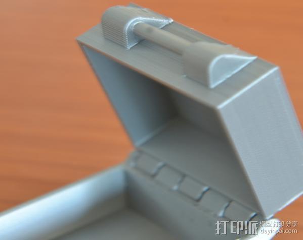 小扣盒 盒子 3D模型  图4