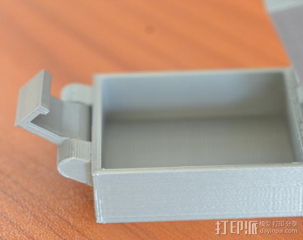 小扣盒 盒子 3D模型  图5