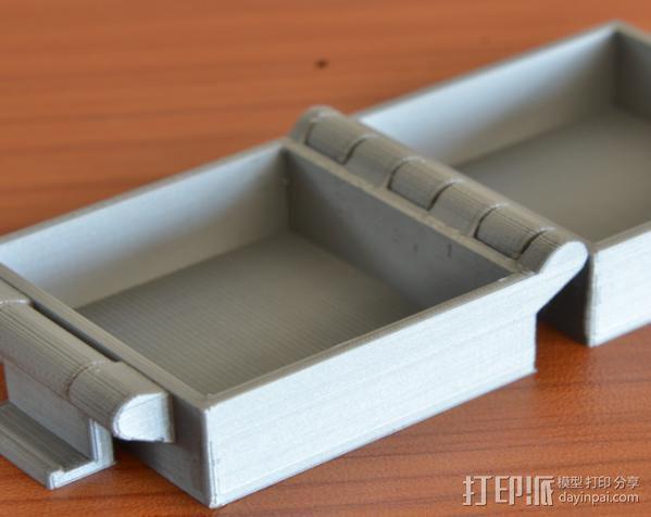 小扣盒 盒子 3D模型  图7
