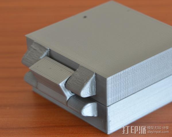 小扣盒 盒子 3D模型  图6