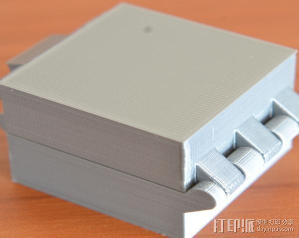 小扣盒 盒子 3D模型  图8