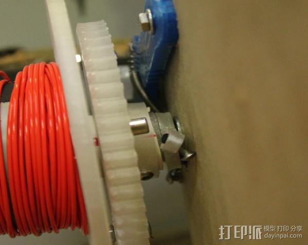 卷线器 线材卷 3D模型  图16