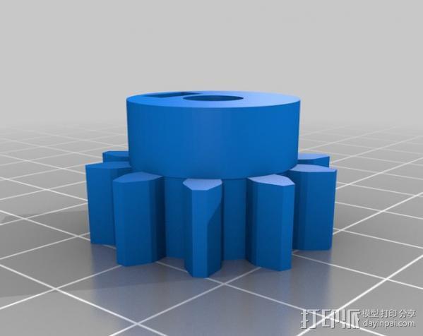 卷线器 线材卷 3D模型  图26
