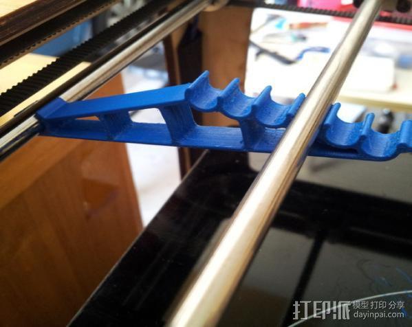 轴杆调整器 调节器 3D模型  图1