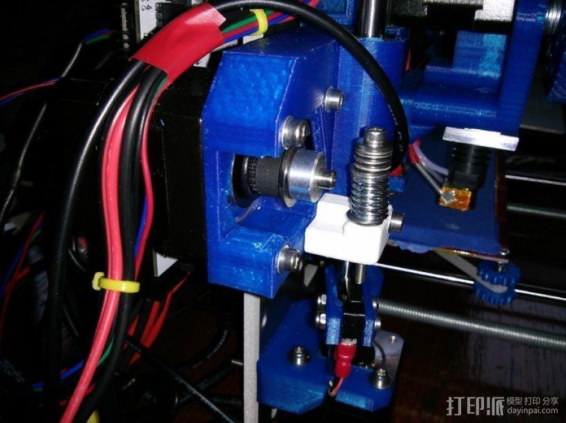 Prusa i3打印机限位开关调节器 3D模型  图3