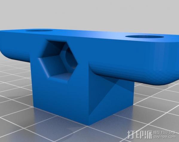 Printrbot 打印机外罩 保护框  3D模型  图4