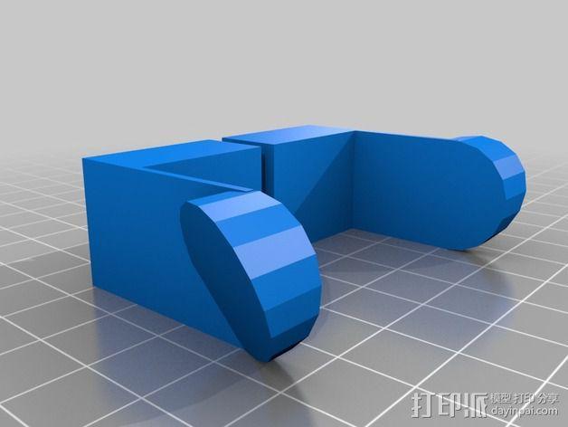 线轴支撑架 3D模型  图8