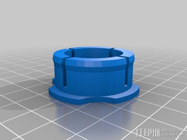 线轴支撑架 3D模型  图14