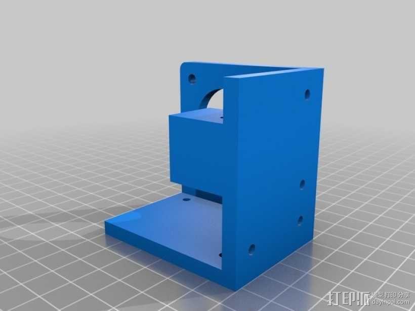 自制3D打印机 3D模型  图21