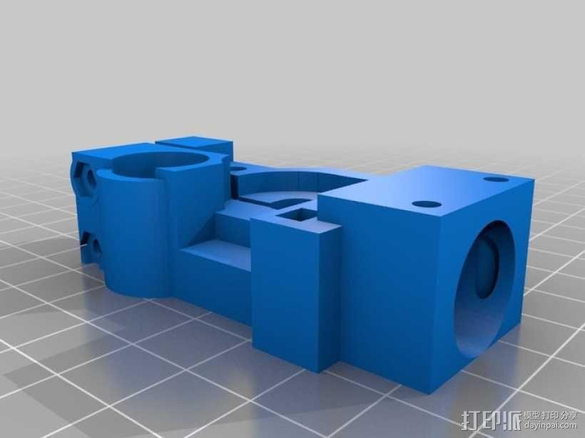 迷你挤出机 3D模型  图8