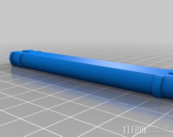 线轴支架 3D模型  图8
