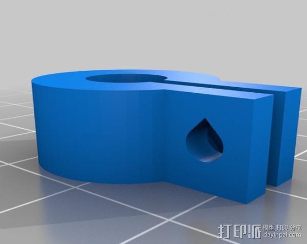 8毫米的夹子 3D模型  图2