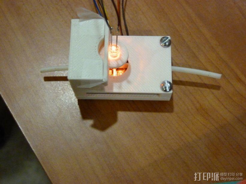 材料传感器 3D模型  图1