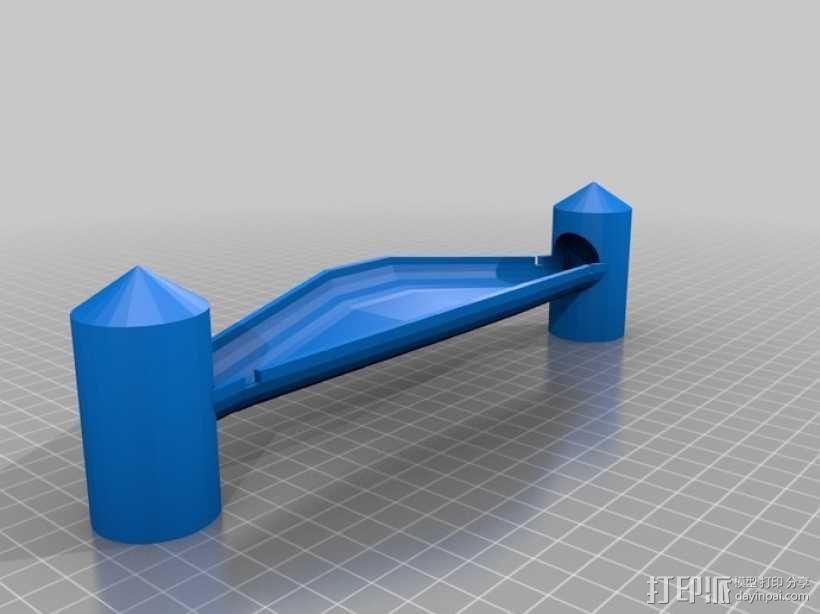 Marble Run游戏造型模型 3D模型  图2