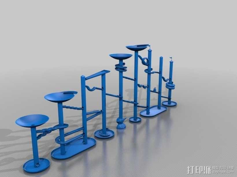 Marble Run游戏造型模型 3D模型  图5