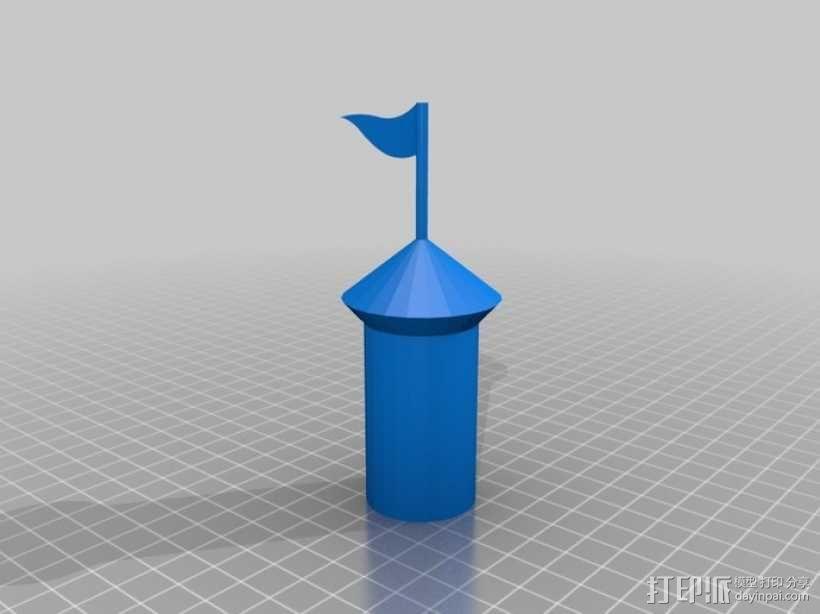Marble Run游戏造型模型 3D模型  图8