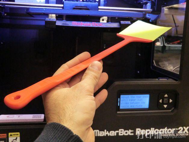 调平器手柄 3D模型  图1