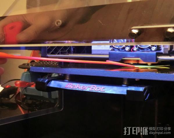 调平器手柄 3D模型  图3