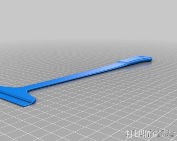 调平器手柄 3D模型  图2