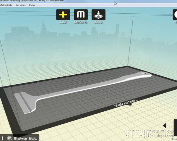 调平器手柄 3D模型  图13