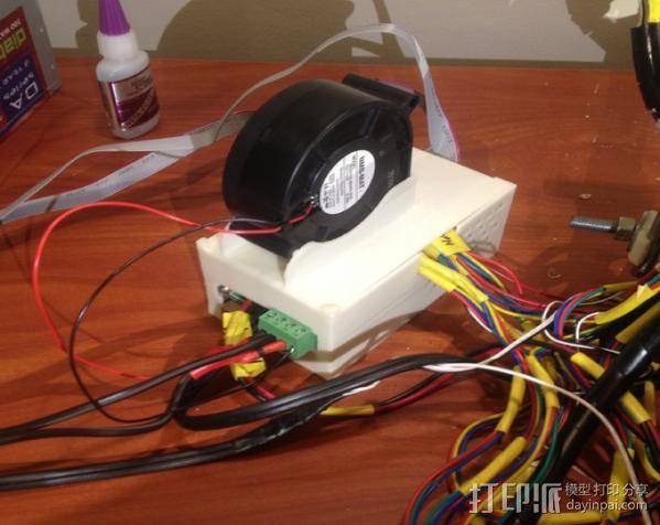RAMPS 1.4 电路板保护盒 3D模型  图1