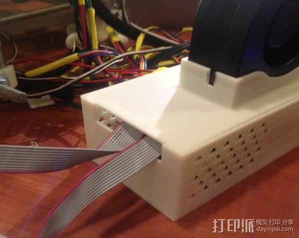 RAMPS 1.4 电路板保护盒 3D模型  图4
