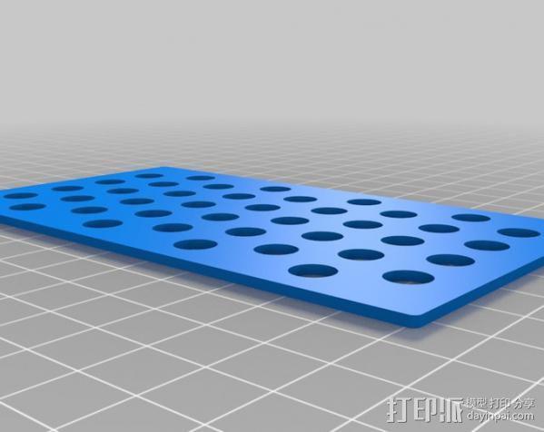 RAMPS 1.4 电路板保护盒 3D模型  图6