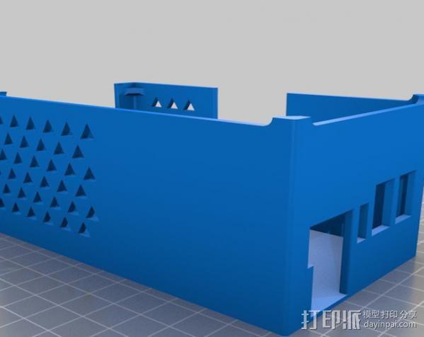 RAMPS 1.4 电路板保护盒 3D模型  图7
