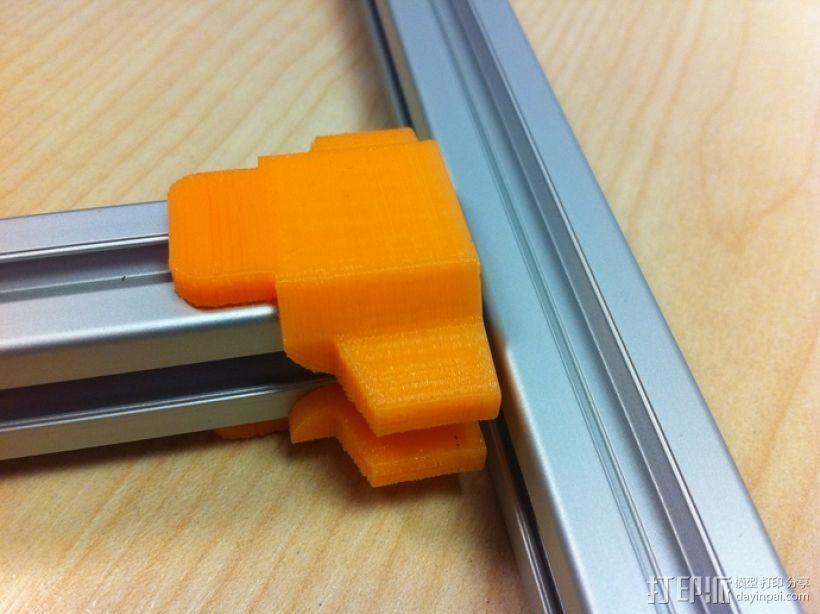 挤出机铝制门架套件 3D模型  图4
