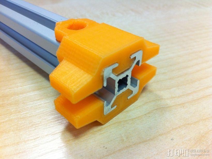 挤出机铝制门架套件 3D模型  图5