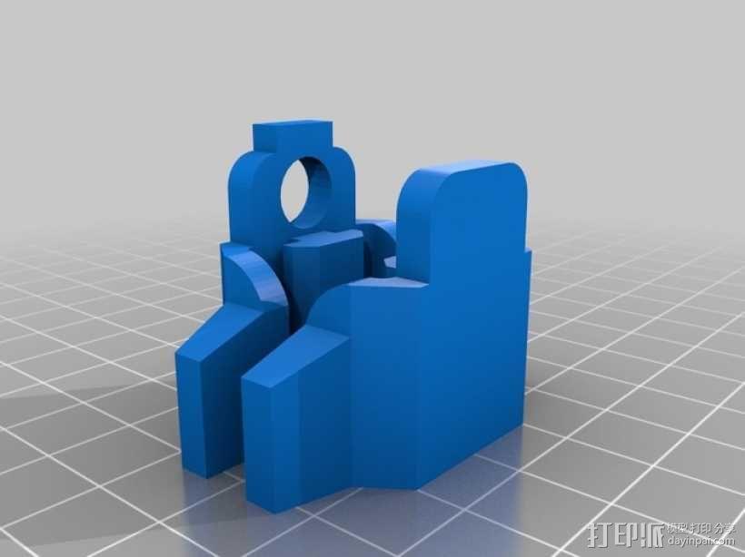 挤出机铝制门架套件 3D模型  图6
