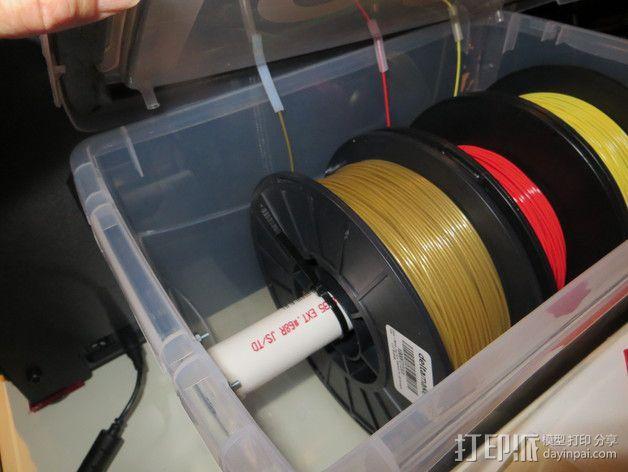 线材风干架 支架 3D模型  图2