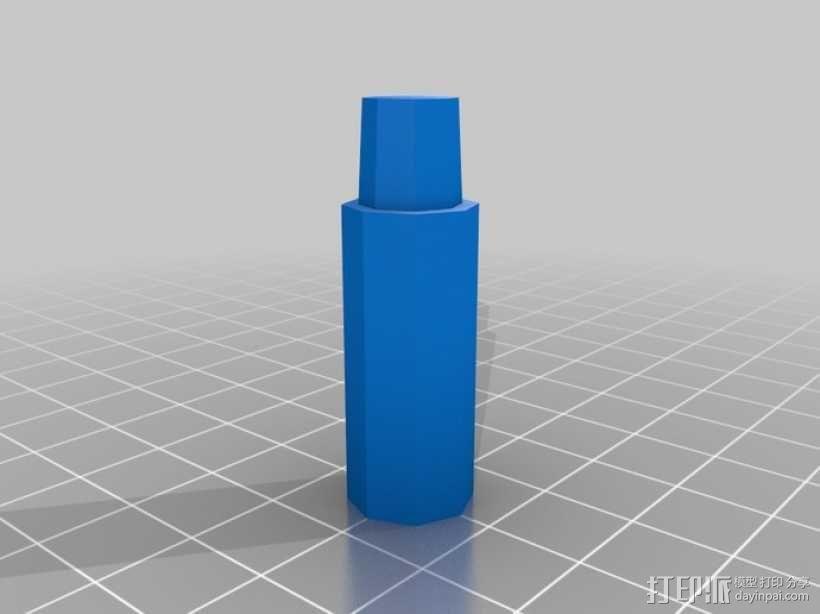 可调节尺寸的线轴支架 3D模型  图9