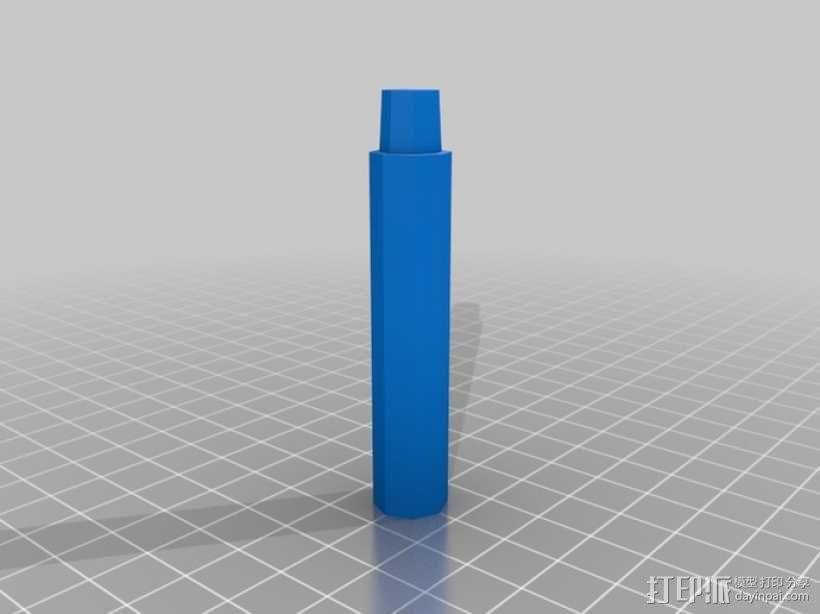 可调节尺寸的线轴支架 3D模型  图13