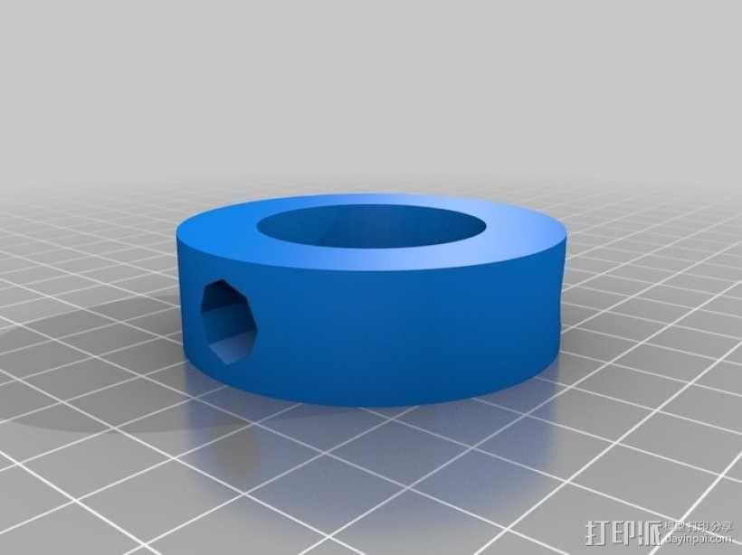 可调节尺寸的线轴支架 3D模型  图15