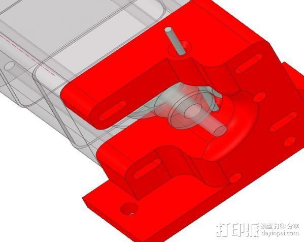 1.75毫米线材挤出机 3D模型  图3