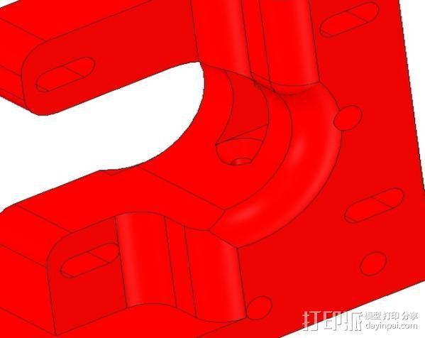1.75毫米线材挤出机 3D模型  图4