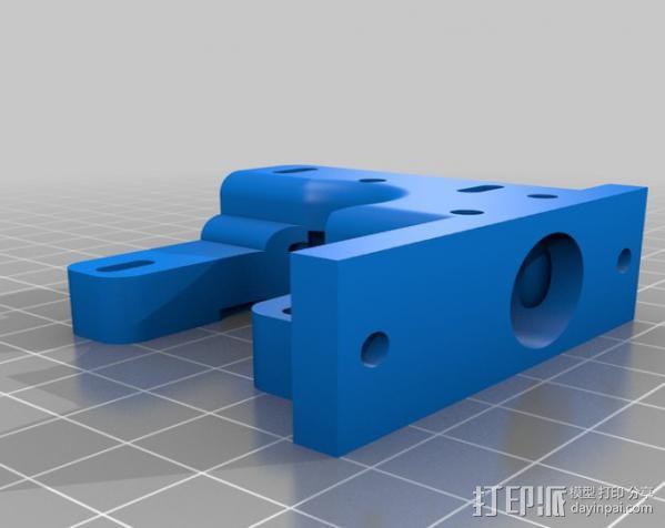 1.75毫米线材挤出机 3D模型  图7