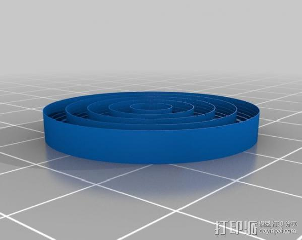 校准打印测试 3D模型  图2