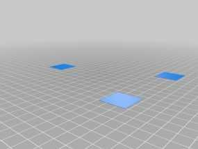 校准打印测试 3D模型