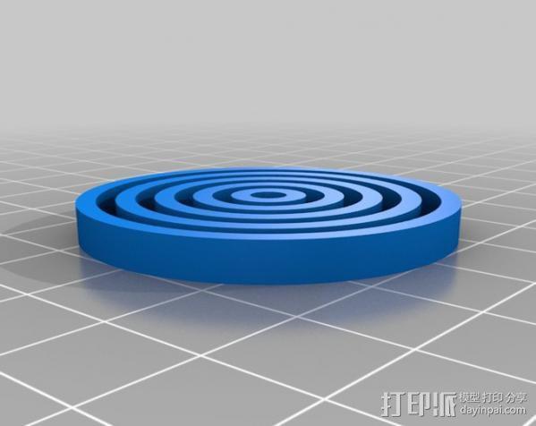 校准打印测试 3D模型  图4