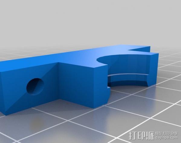 Wade挤出机适配器 3D模型  图10