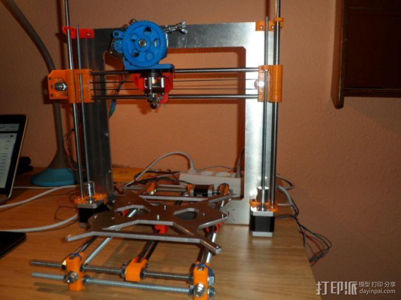 Gregs-Wade-挤出机支架 3D模型  图3