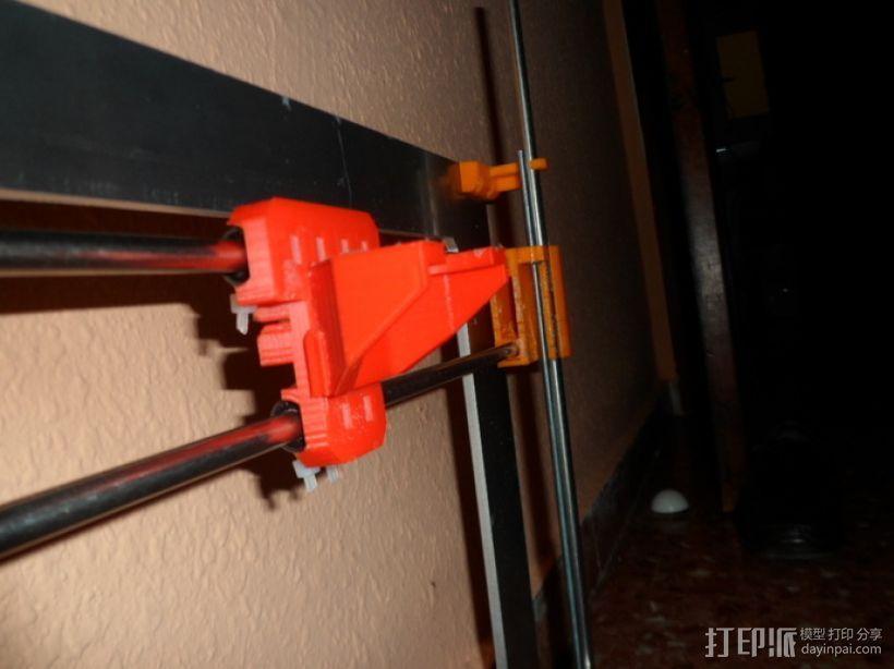 Gregs-Wade-挤出机支架 3D模型  图4