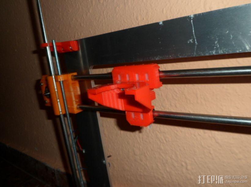Gregs-Wade-挤出机支架 3D模型  图5