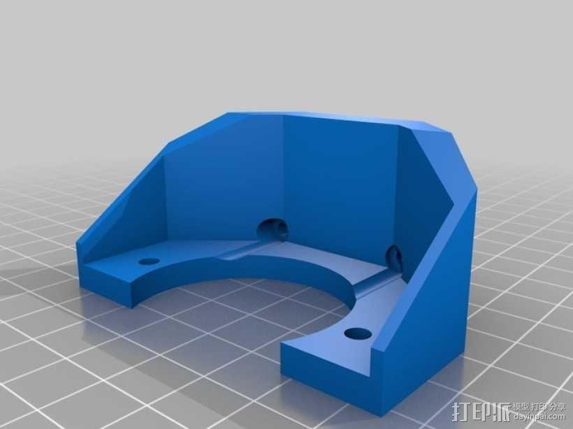 Gregs-Wade-挤出机支架 3D模型  图7