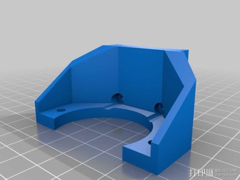 Gregs-Wade-挤出机支架 3D模型  图6
