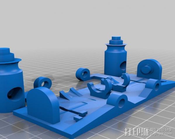 线材监测器 3D模型  图1