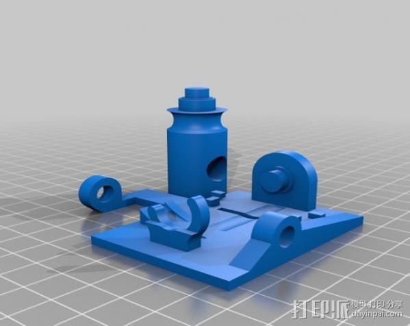 线材监测器 3D模型  图2