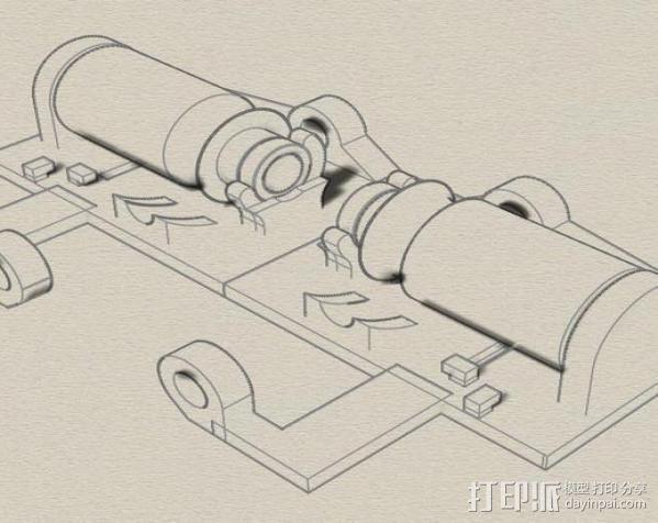 线材监测器 3D模型  图5